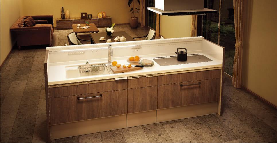 キッチンのデザイン性