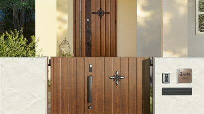リクシルの門扉