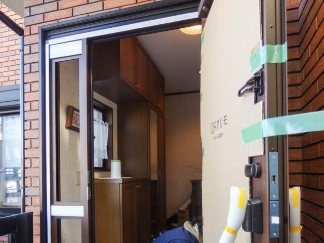 玄関ドアのリフォーム事例が豊富