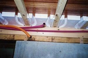 さまざまな床暖房工事の実績あり