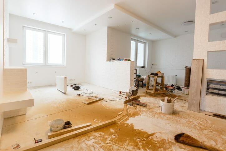 床の傾きや傾斜を修理・補修するリフォーム費用は?