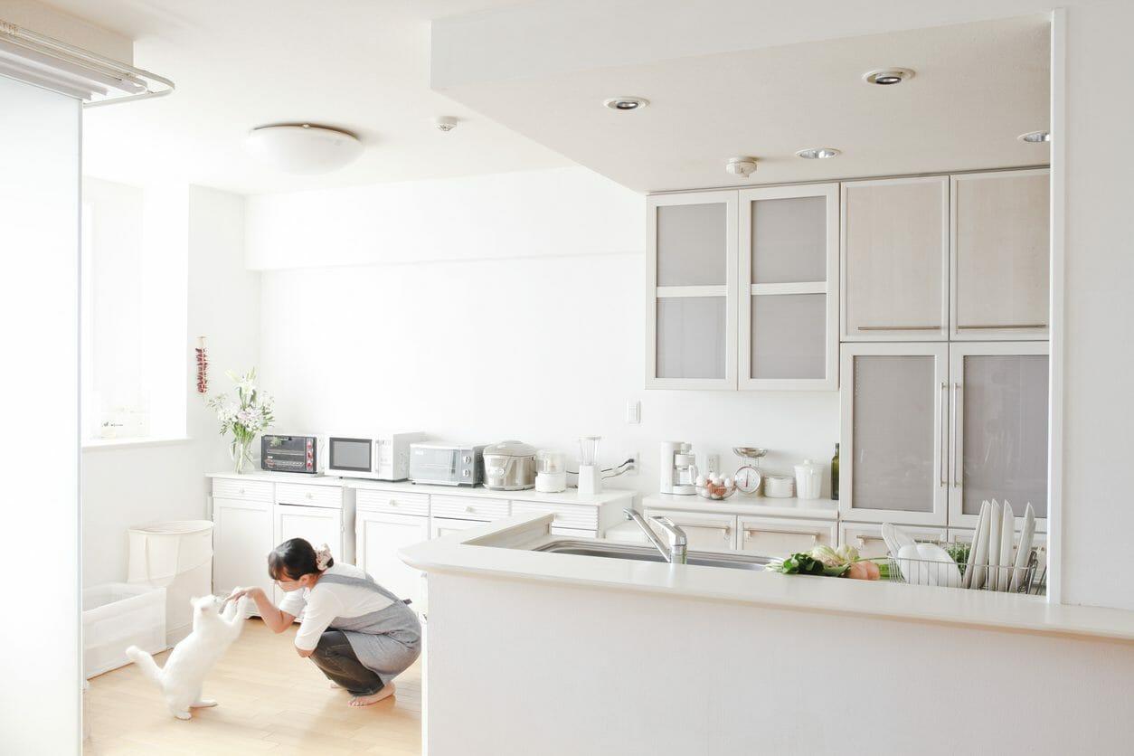壁付けキッチンのレイアウト・メリットデメリットを紹介!